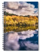 Autumnal Reflections Spiral Notebook