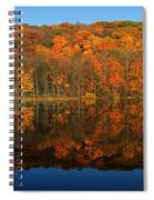 Autumns Colorful Reflection Spiral Notebook