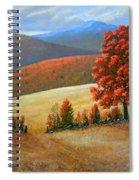 Autumns Glory Spiral Notebook