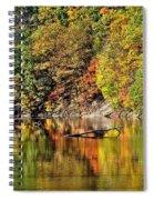 Autumns Glow Spiral Notebook