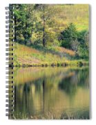 Autumn's Golden Peace Spiral Notebook
