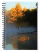 Autumn's Mist Spiral Notebook