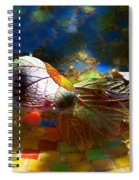 Autumns Mosaic Spiral Notebook