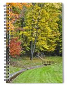 Autumns Playground Spiral Notebook