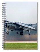 Av-8b Harrier Spiral Notebook