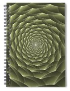 Avacado Vertigo Vortex Spiral Notebook