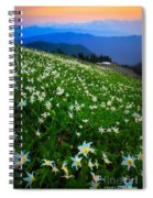 Avalanche Lily Field Spiral Notebook