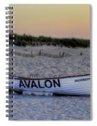 Avalon Lifeboat Spiral Notebook