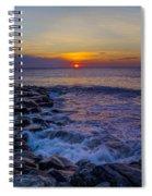 Avalon New Jersey Sunrise Spiral Notebook