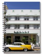 Avalon On Ocean Drive Spiral Notebook