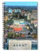 Avant Autumn 2013 Vertical  Spiral Notebook