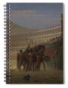 Ave Caesar Morituri Te Salutant , 1859 Spiral Notebook