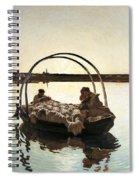 Ave Maria Spiral Notebook