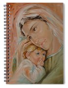 Ave Maria Spiral Notebook