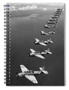 Avenger Bombers, 1943 Spiral Notebook