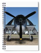 Abstract Avenger T B M Moffett Field Spiral Notebook