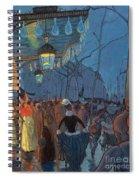 Avenue De Clichy Paris Spiral Notebook