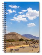 Avenue Of The Dead Spiral Notebook