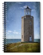 Avery Point Lighthouse Spiral Notebook