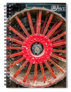 Avery Tractor Tire Spiral Notebook