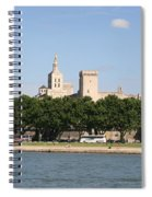 Avigon View From River Rhone Spiral Notebook