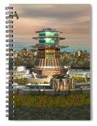 Avitar Scorpion Ship Spiral Notebook