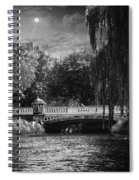 Avlon River At Nite Spiral Notebook