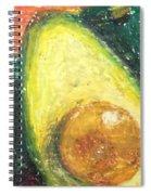 Avocados Spiral Notebook