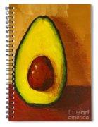 Avocado Palta 7 - Modern Art Spiral Notebook