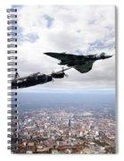 Avro Birds Spiral Notebook