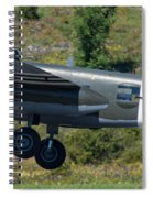North American B-25 Mitchell Bomber Taking Off. Spiral Notebook