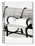 Awaiting Spring  Spiral Notebook