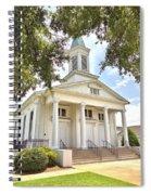 Awaiting The Congregation Spiral Notebook