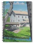 Award-winning Painting Of Beckman's Mill Spiral Notebook