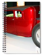 Awesome Lowered Bucket Truck Spiral Notebook