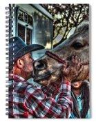 Awww Dixie Spiral Notebook