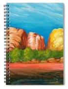 Ayers Rock End Spiral Notebook