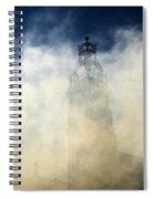 Ayuntamiento In Masclaeta Smoke Spiral Notebook