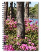 Azalea At The Lake Spiral Notebook