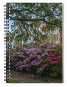 Azalea Row Spiral Notebook