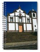 Azorean Church Spiral Notebook