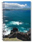 Azores Islands Ocean Spiral Notebook