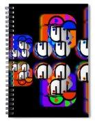 Aztec Convoy Spiral Notebook