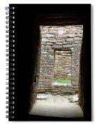 Aztec Doorway Spiral Notebook