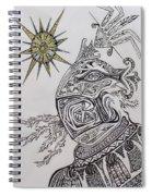 Aztec Spiral Notebook