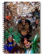 Aztec Performers O'odham Tash Casa Grande Arizona 2006  Spiral Notebook
