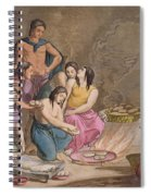 Aztec Women Making Maize Bread, Mexico Spiral Notebook