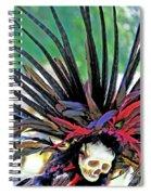Aztecan Ceremony 15 Spiral Notebook