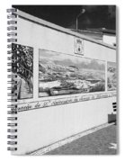 Azulejo Mural In Azores Spiral Notebook