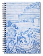 Azulejos Traditional Tiles In Porto Portugal Spiral Notebook